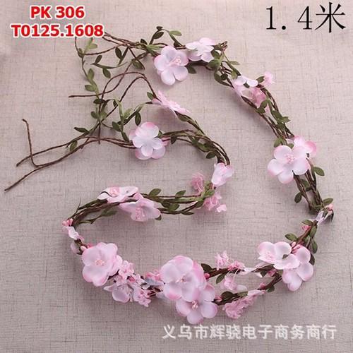 Dây cài tóc cô dâu hoa màu hồng - 5068860 , 6713758 , 15_6713758 , 125000 , Day-cai-toc-co-dau-hoa-mau-hong-15_6713758 , sendo.vn , Dây cài tóc cô dâu hoa màu hồng