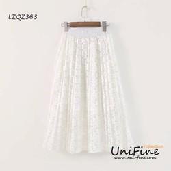 Chân váy ren xòe - LZQZ363