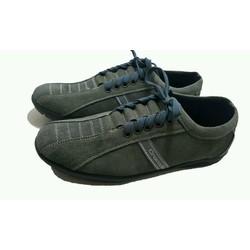 giày nam thể thao da lộn