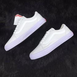 Giày Vans OldSkool Full White