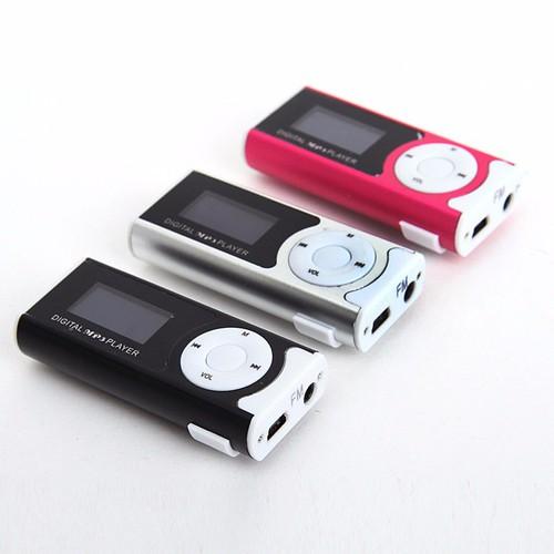 Máy Nghe Nhạc MP3 Có Màn Hình Và Thẻ Nhớ 2GB