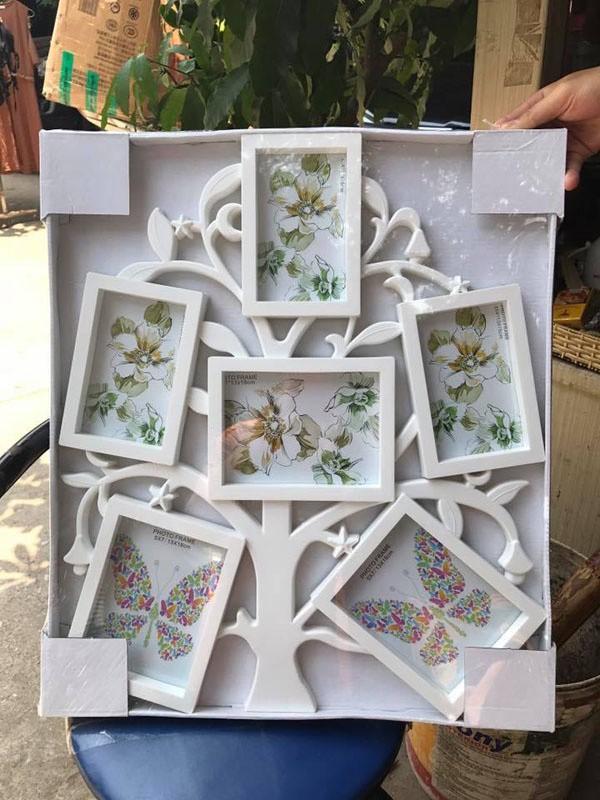 Bộ 6 khung ảnh hình cây độc đáo 4