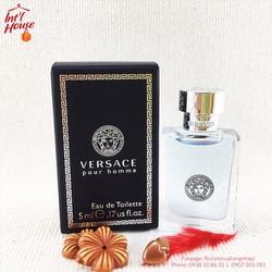 Nước hoa Versace Pour Homme Eau The Toilette 5ml