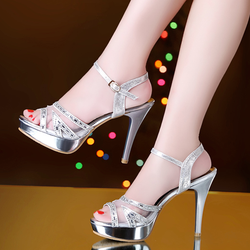 Giày cao gót viền đá cao cấp CK281