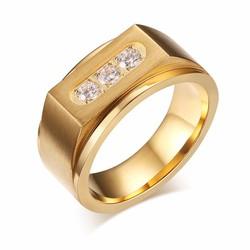 Nhẫn nam Kim cương đẹp thời trang