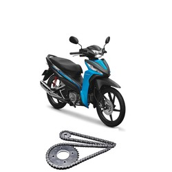 Nhông xích nhông sên dĩa xe máy Wave RSX 100cc