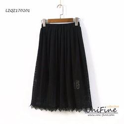 Chân váy ren 2 lớp - LZQZ170201