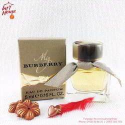 Nước Hoa My Burberry Eau De Parfum 5ml