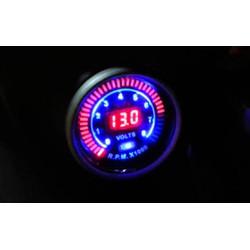 Đồng hồ điện tử koso xe máy đo tua máy và bình