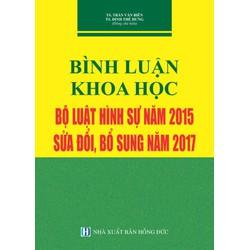 Bình luận bộ luật hình sự năm 2015, sửa đổi bổ sung năm 2017