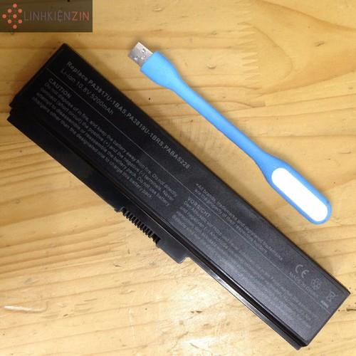 Pin Laptop Toshiba Satellite Pro C660 C660D M300 Tặng đèn LED USB