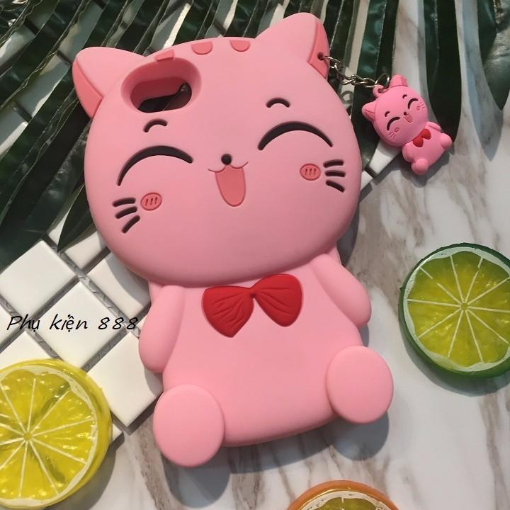 Ốp lưng Iphone 7 mèo hồng 4