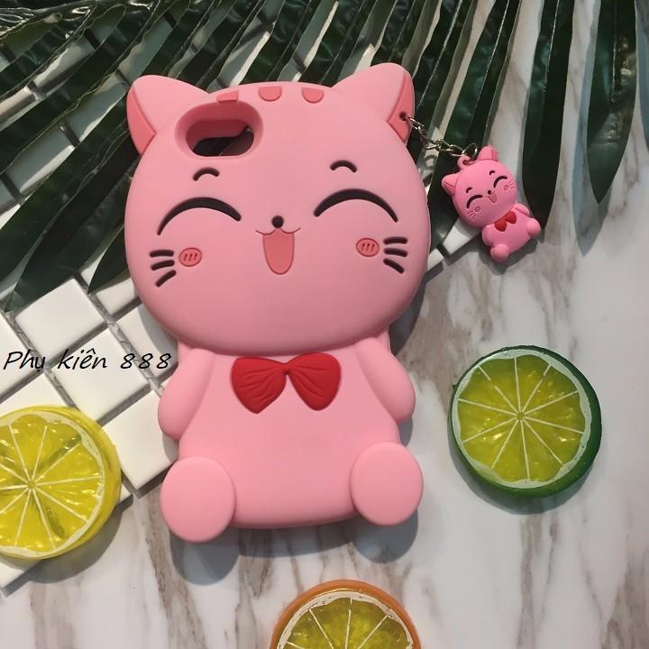 Ốp lưng Iphone 7 mèo hồng 2