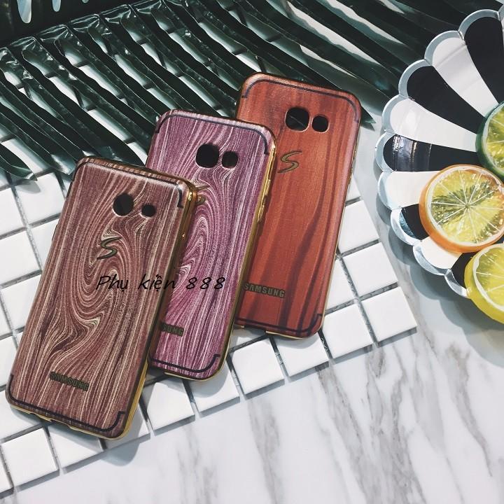 Ốp lưng Samsung Galaxy A5 2017 vân gỗ 1