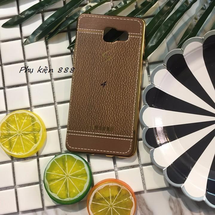 Ốp lưng Samsung Galaxy A7 2016 giả da 4