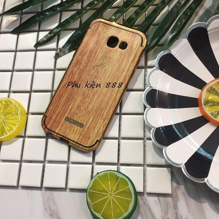 Ốp lưng Samsung Galaxy A7 2016 vân gỗ 2