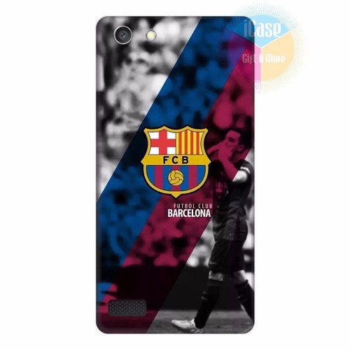 Ốp lưng Oppo Neo 7 in hình CLB Barcelona