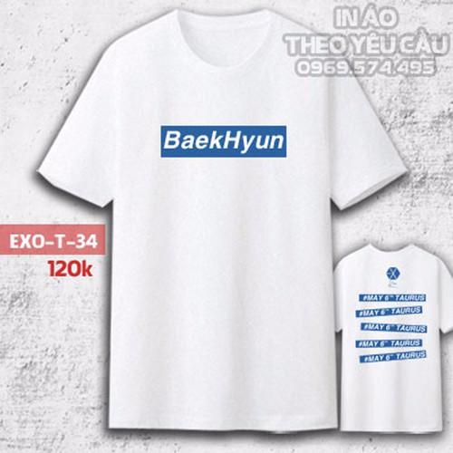 Áo Phông EXO Baekhyun