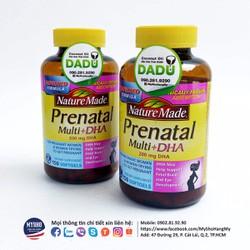 Vitamin Tổng hợp dành cho phụ nữ mang thai - Prenatal