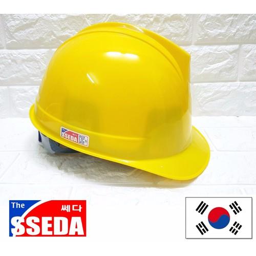 Nón bảo hộ SSEDA I Hàn Quốc - màu vàng