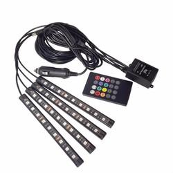 Đèn LED trang trí nội thất xe hơi sành điệu