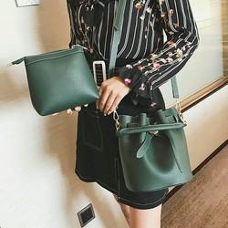 Bộ túi xách sành điệu 2in1 dáng Hàn Quốc