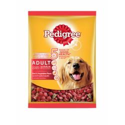 Thức Ăn Cho Chó Vị Thịt Bò Và Các Loại Rau Củ Pedigree gói 400gr