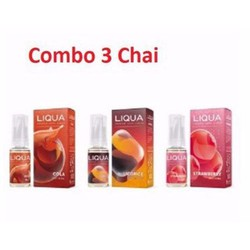 Tinh dầu Liqua thuốc. lá điện tử