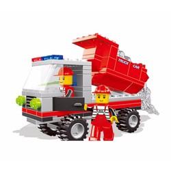 Bộ lego xếp hình Wange xe tải - Xe công trường