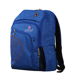 Balo laptop Sakos Rainbow I15 Blue