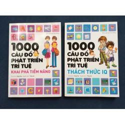 1000 câu đố phát triển trí tuệ Giá bìa 120k