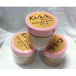 Kem dưỡng trắng da Kiss skin care White body SPF 45