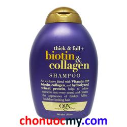 Dầu gội chống rụng tóc Biotin Collagen 385ml