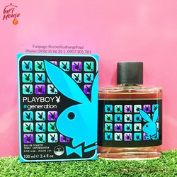 Nước hoa Playboy Generation EDT For Men 100ml