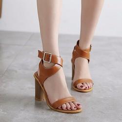 Giày cao gót quai ngang chéo cổ chân CG89