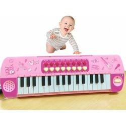 Đàn Organ có mic cho bé - Đàn piano mini