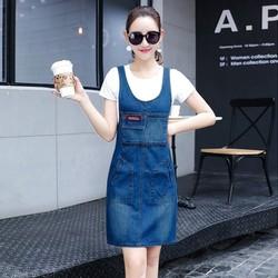 Đầm Yếm Jean Xinh Xắn - YSM0316