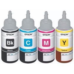 Bộ mực in phun 4 màu - Dùng cho máy Epson L110, L200, L210, L300, L310