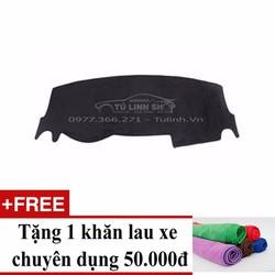 Thảm chống nắng taplo Mitsubishi Mirage+ Tặng khăn lau xe chuyên dụng