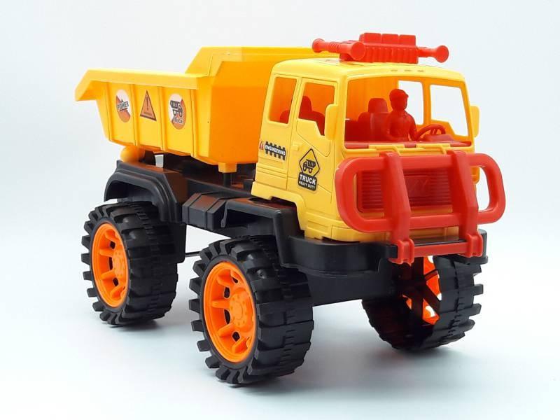 Xe mô hình công trình có trớn xe ben- 708-08 3