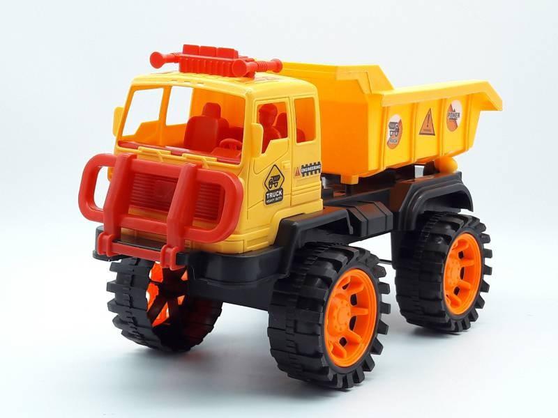 Xe mô hình công trình có trớn xe ben- 708-08 5