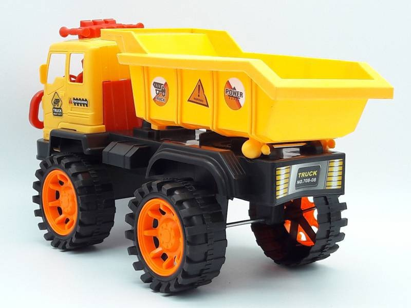 Xe mô hình công trình có trớn xe ben- 708-08 7