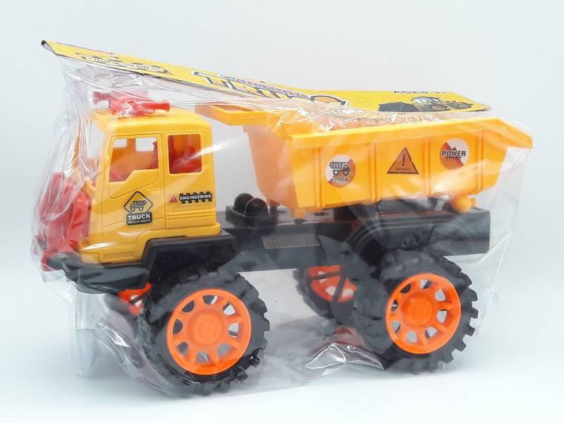 Xe mô hình công trình có trớn xe ben- 708-08 1