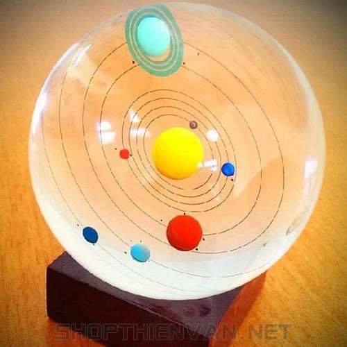 Quả cầu thủy tinh Hệ mặt trời - Solar Crystal Ball