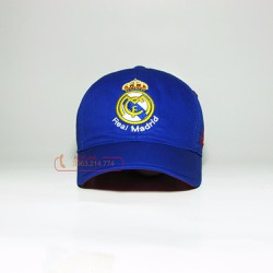 Nón Real Madrid xanh bích - A068