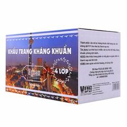 Bộ combo 2 hộp khẩu trang y tế kháng khuẩn 4 lớp HyNam - Trắng