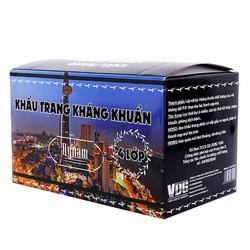 Bộ combo 5 hộp khẩu trang y tế kháng khuẩn 4 lớp HyNam - Đen