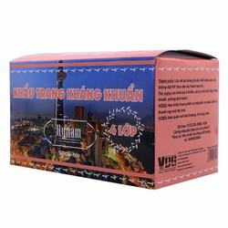 Bộ combo 2 hộp khẩu trang y tế kháng khuẩn 4 lớp HyNam - Hồng