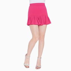Chân váy đuôi cá màu hồng