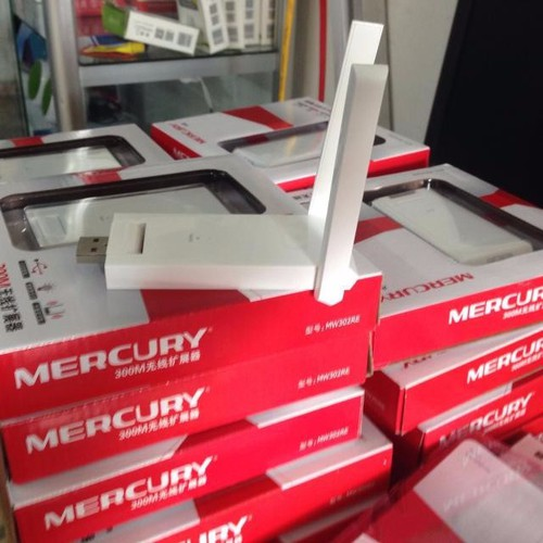 Kích Sóng WIFI Mercury 2 Ăngten  MW302RE - Kích Sóng Wifi Mercury